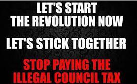 Stop payinh council tax