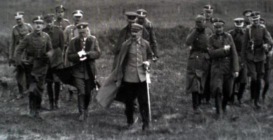 Bitwa Warszawska - Pilsudski