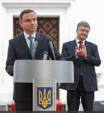 Duda nad symbolem Ukrainy
