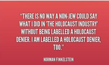 Finkelstein on holocaust industry