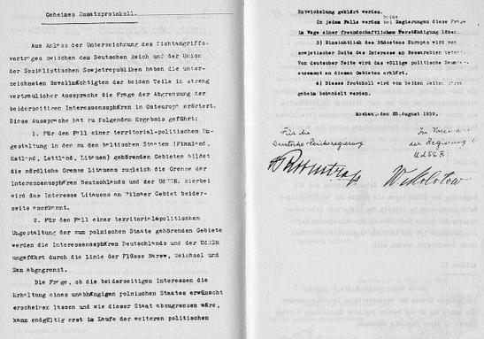Germna-Soviet Pact 1939