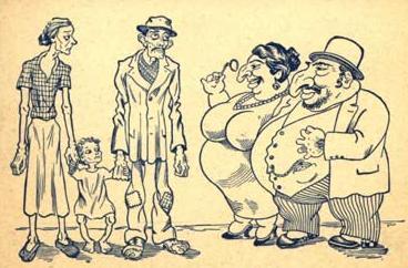 Greedy fat jews