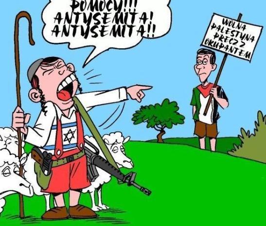 Pomocy - Antysemita!