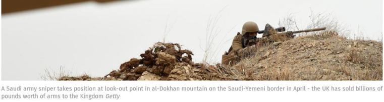 Saudi armt sniper