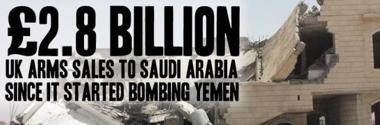 UK arms sale to Saudis
