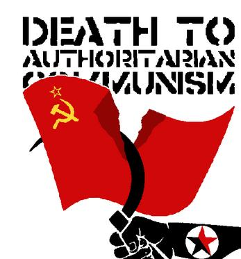 Death to authoritarian communism