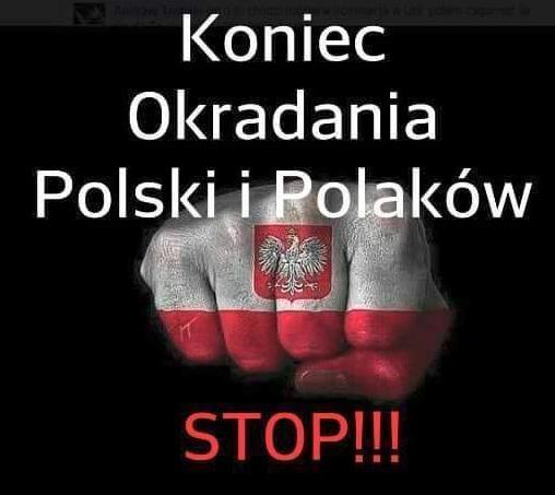 Koniec okradania Polakow