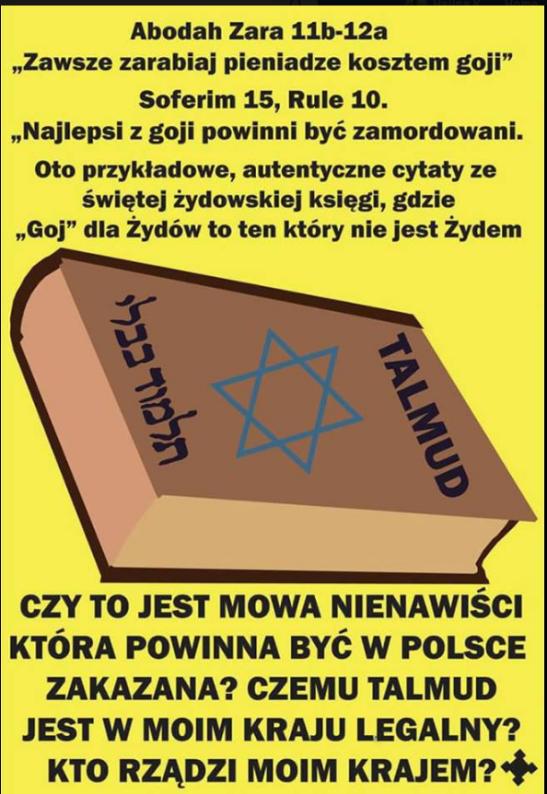 Talmud-Mowa nienawisci