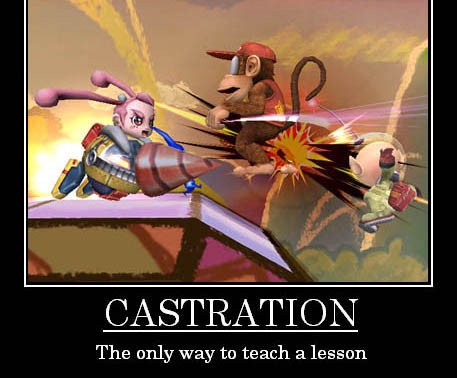 Castration-The only way to teach a lesson