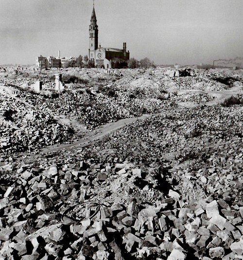 Warsaw-Poland 1945