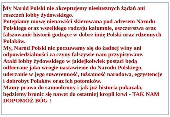 My Narod Polski