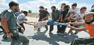 Israelis settlers violence