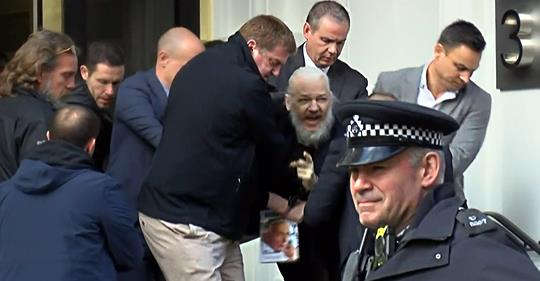 Arrest of Julian Assange