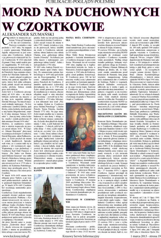 Mord w Czortkowie