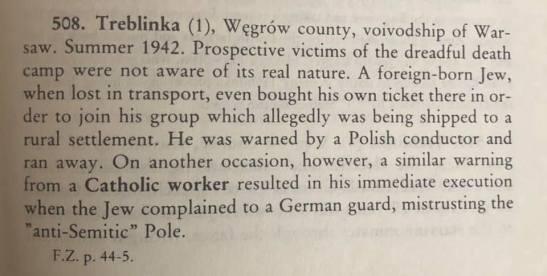 Warning of Treblinka