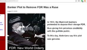 1933 Banker Plot to Remove FDR Was a Ruse