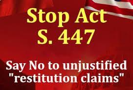 STOP S.447
