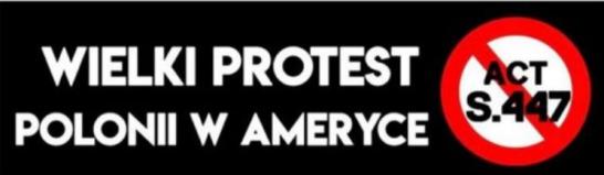Wielki protest Polonii w Ameryce