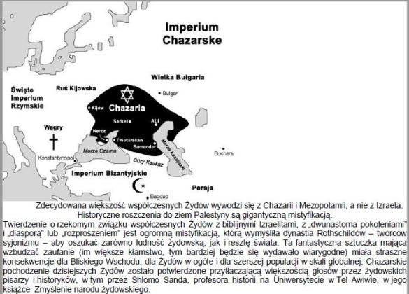 Imperium chazarskie i zydzi