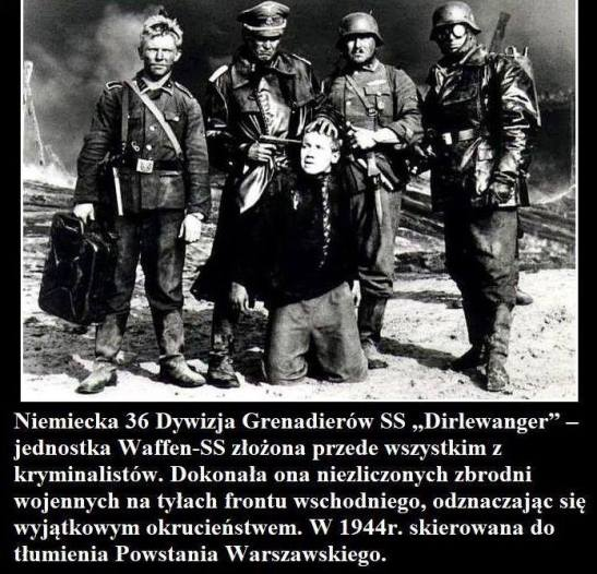 Zbrodnie Grenadierow Dirlewanger