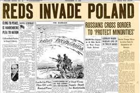 Reds invade Poland