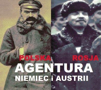 Agenci-Pilsudski i Lenin