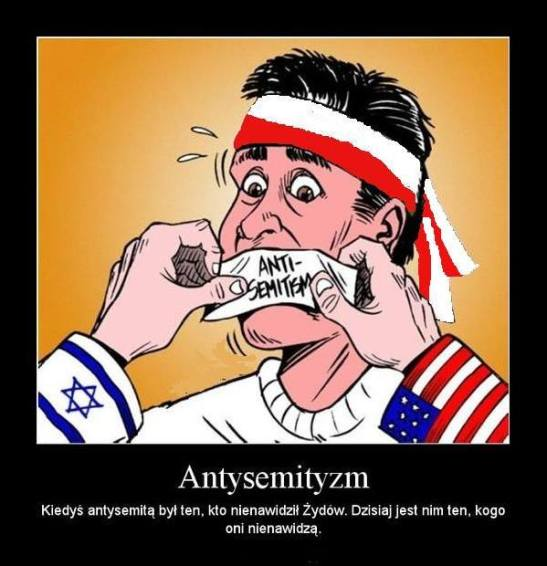 Kneblowanie ust zarzutem o antysemityzm