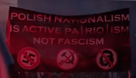 Polish nationalism is active patriotism