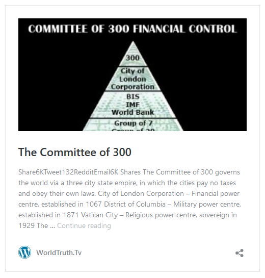 The Commettee of 300