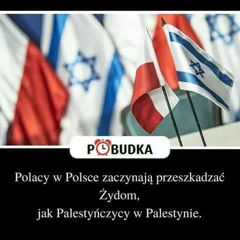 Polacy w Polsce przeszkadzaja zydom