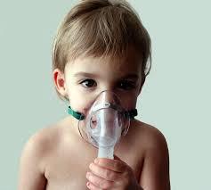Inhaling oxigen