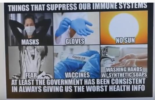 Suppressed Immune system